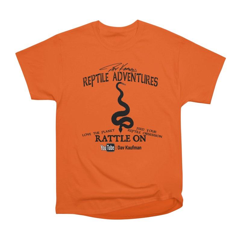 Dāv Kaufman's Reptile Adventures official logo (alt design) in black Women's T-Shirt by Dav Kaufman's Swag Shop!