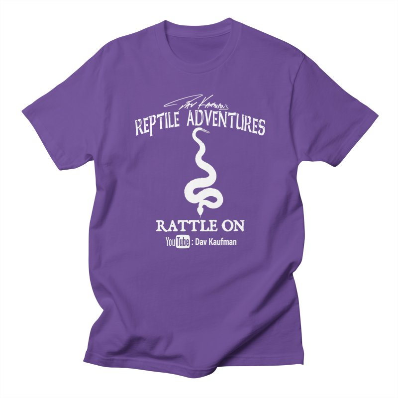 Dāv Kaufman's Reptile Adventures official logo in white Women's T-Shirt by Dav Kaufman's Swag Shop!