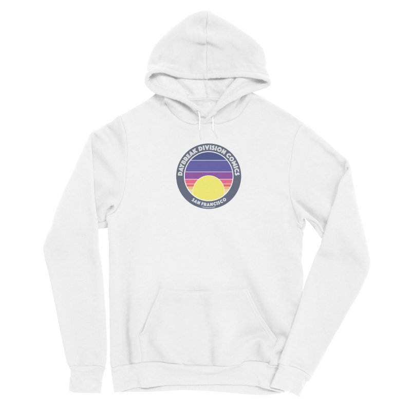 Daybreak Division Comics Logo Women's Pullover Hoody by daybreakdivision's Artist Shop