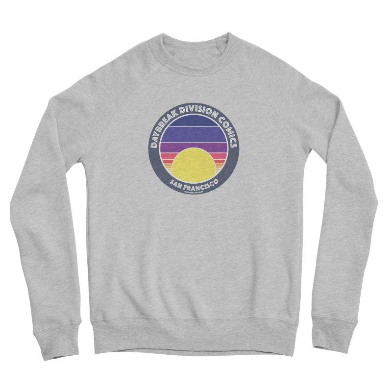 Daybreak Division Comics Logo Women's Sponge Fleece Sweatshirt by daybreakdivision's Artist Shop