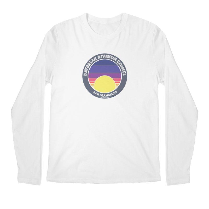 Daybreak Division Comics Logo Men's Regular Longsleeve T-Shirt by daybreakdivision's Artist Shop