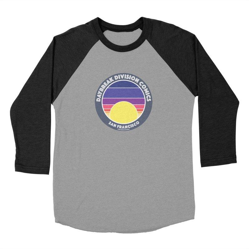 Daybreak Division Comics Logo Women's Baseball Triblend Longsleeve T-Shirt by daybreakdivision's Artist Shop