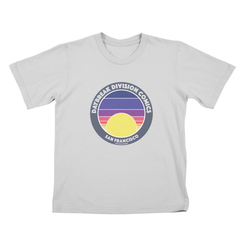 Daybreak Division Comics Logo Kids T-Shirt by daybreakdivision's Artist Shop