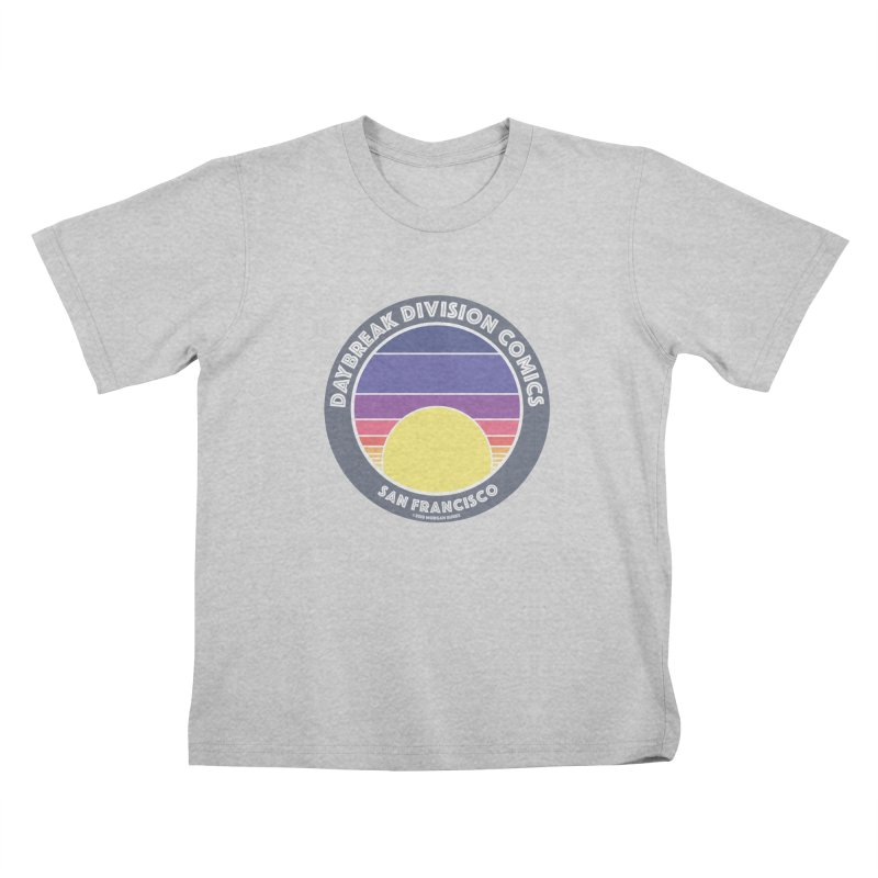 Daybreak Division Comics Logo Kids T-Shirt by daybreakdivision's Artist Shop