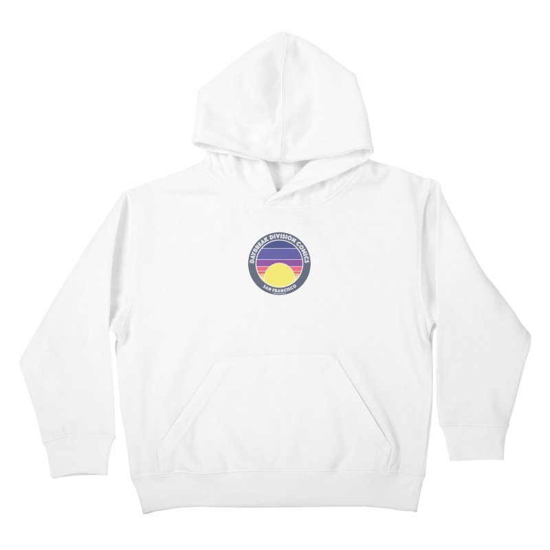 Daybreak Division Comics Logo Kids Pullover Hoody by daybreakdivision's Artist Shop