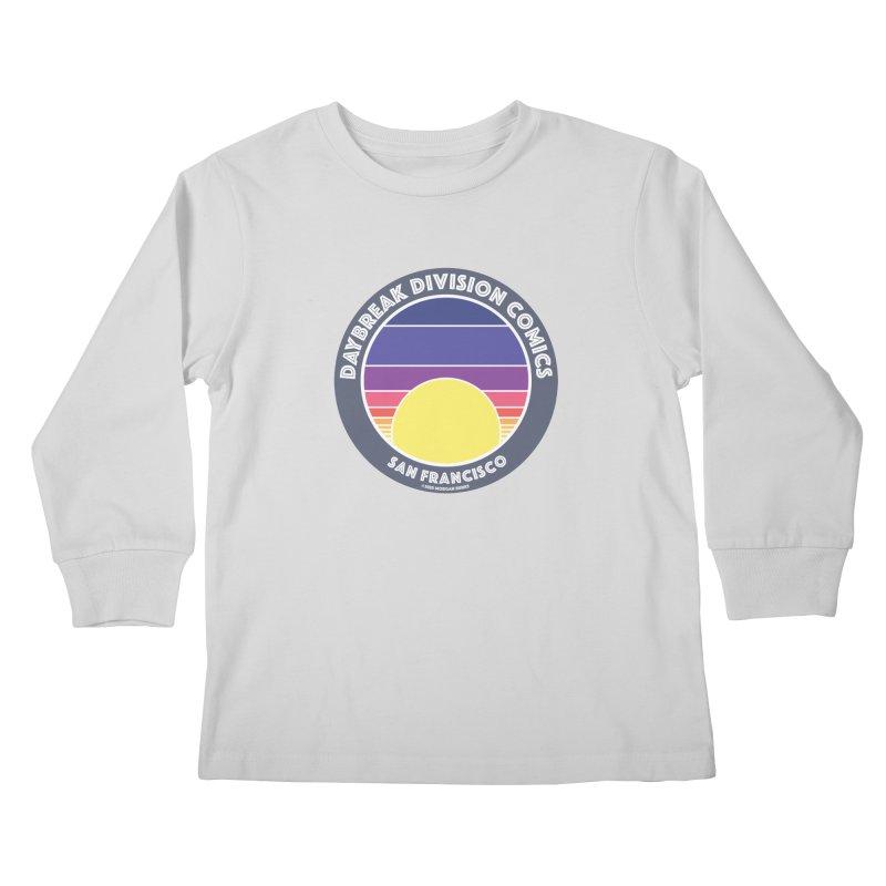 Daybreak Division Comics Logo Kids Longsleeve T-Shirt by daybreakdivision's Artist Shop