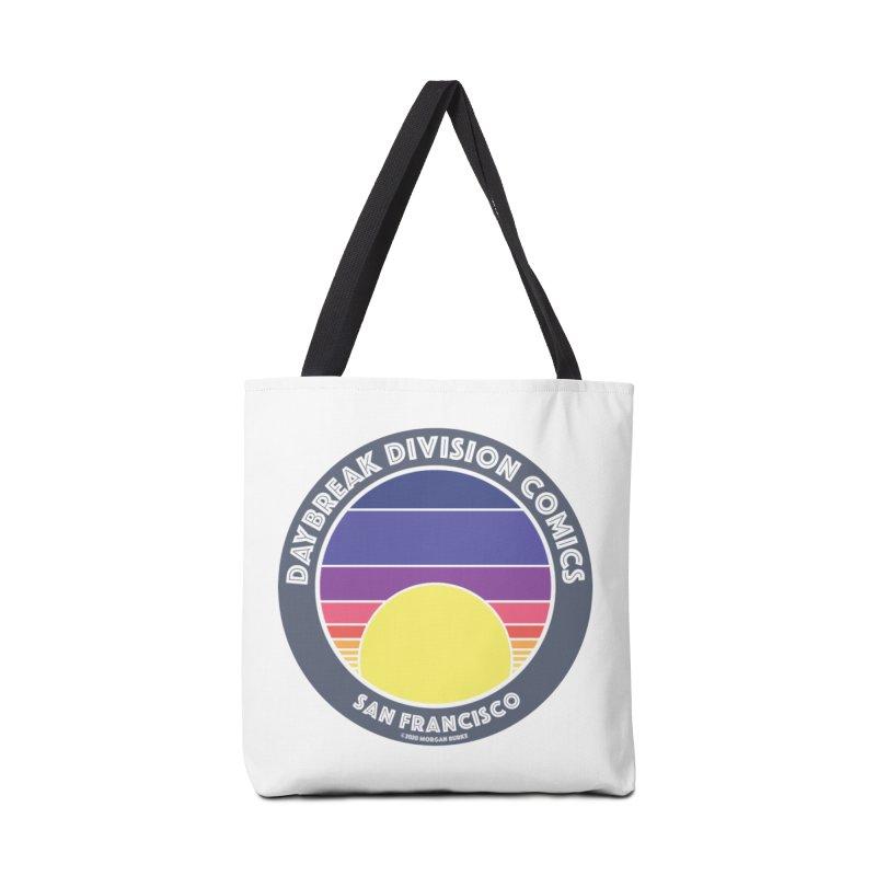 Daybreak Division Comics Logo Accessories Tote Bag Bag by daybreakdivision's Artist Shop