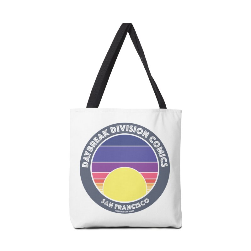 Daybreak Division Comics Logo Accessories Bag by daybreakdivision's Artist Shop