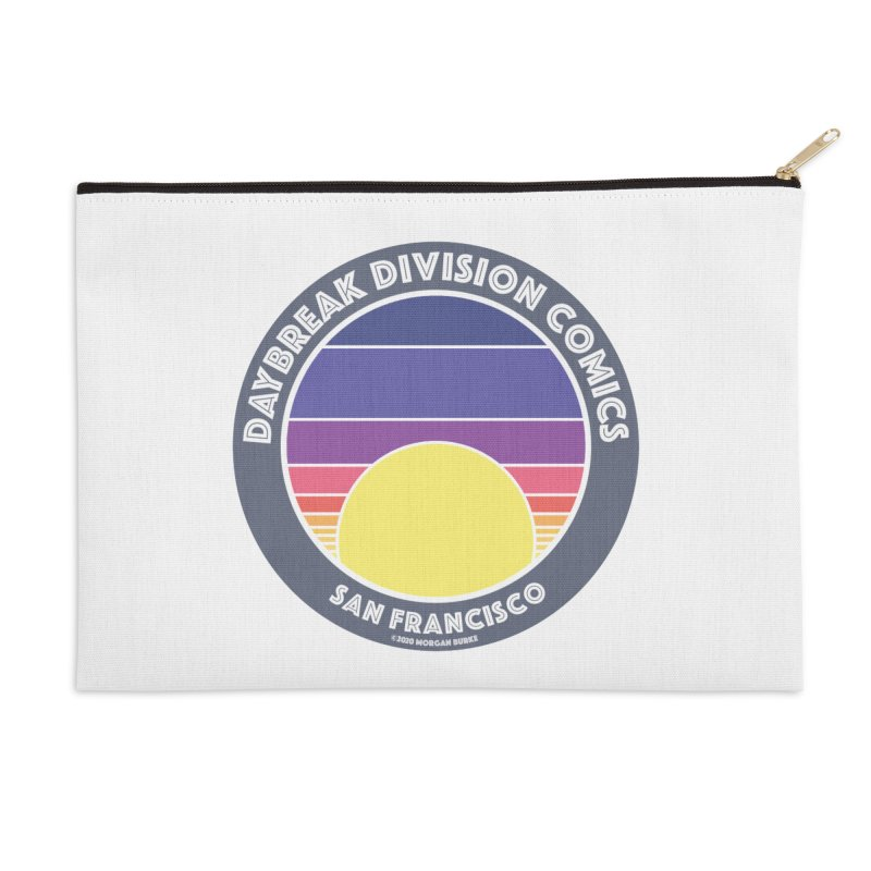 Daybreak Division Comics Logo Accessories Zip Pouch by daybreakdivision's Artist Shop