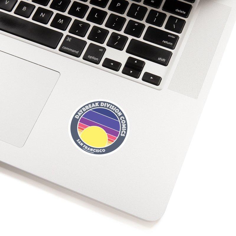 Daybreak Division Comics Logo Accessories Sticker by daybreakdivision's Artist Shop