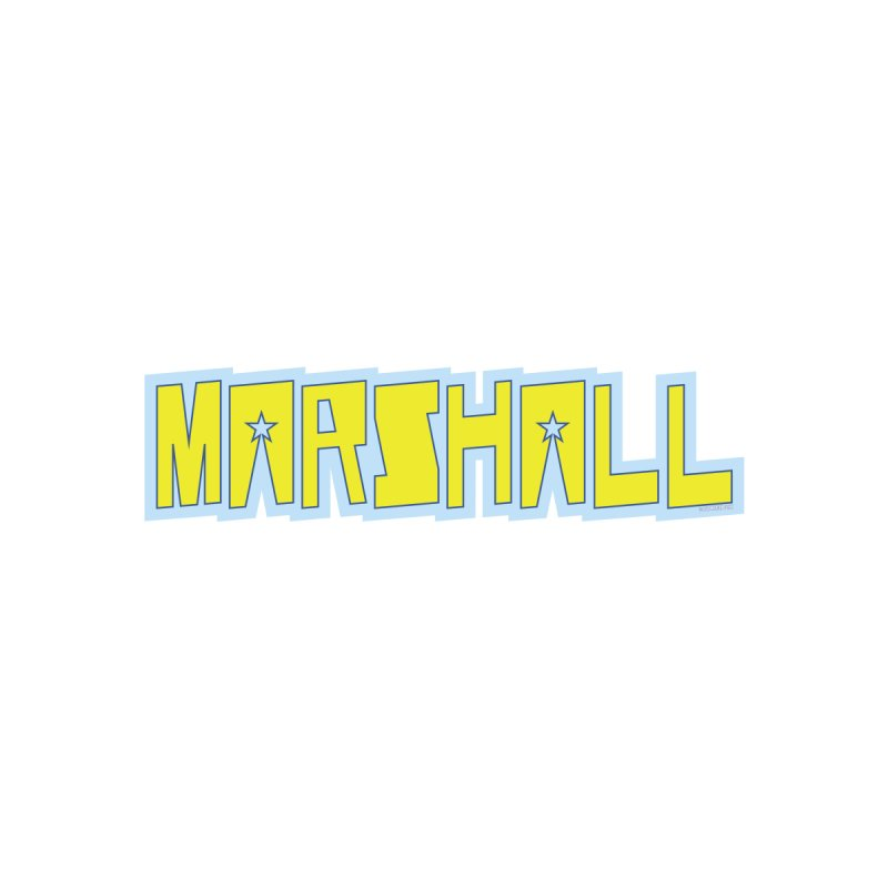 Marshall Logo Men's Longsleeve T-Shirt by daybreakdivision's Artist Shop
