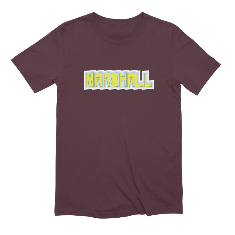 Marshall Logo Men's Extra Soft T-Shirt by daybreakdivision's Artist Shop