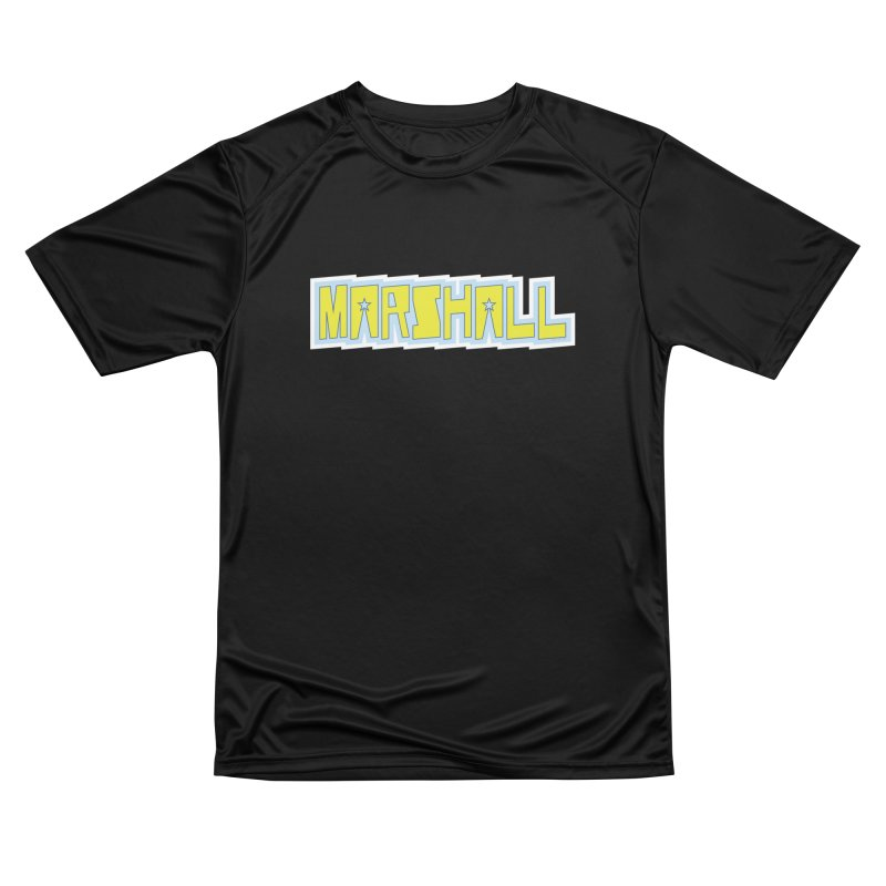 Marshall Logo Men's Performance T-Shirt by daybreakdivision's Artist Shop