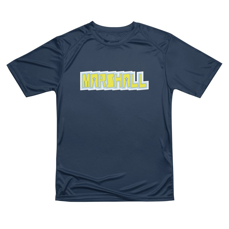 Marshall Logo Men's Performance T-Shirt by daybreakdivision's Artist Shop