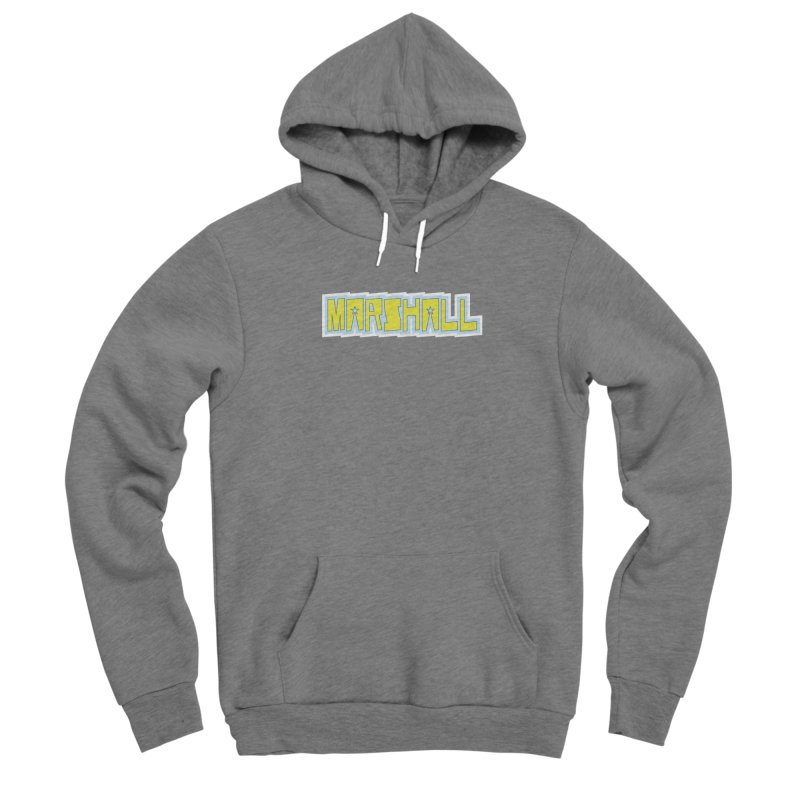Marshall Logo Men's Pullover Hoody by daybreakdivision's Artist Shop