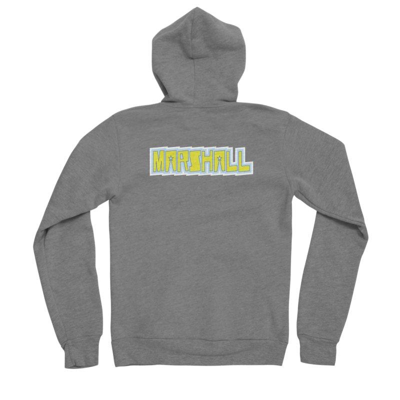 Marshall Logo Men's Zip-Up Hoody by daybreakdivision's Artist Shop