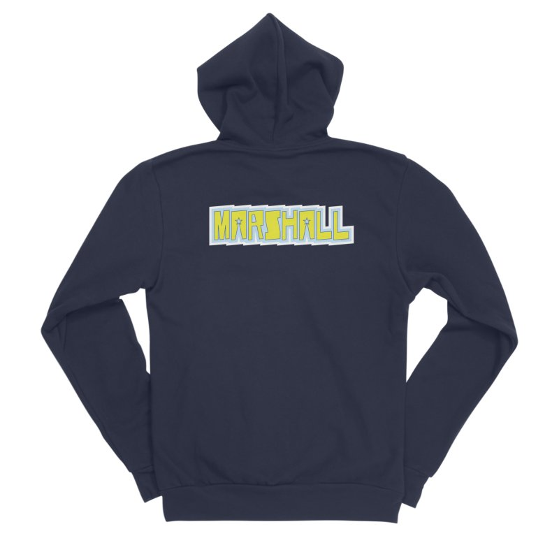Marshall Logo Women's Zip-Up Hoody by daybreakdivision's Artist Shop