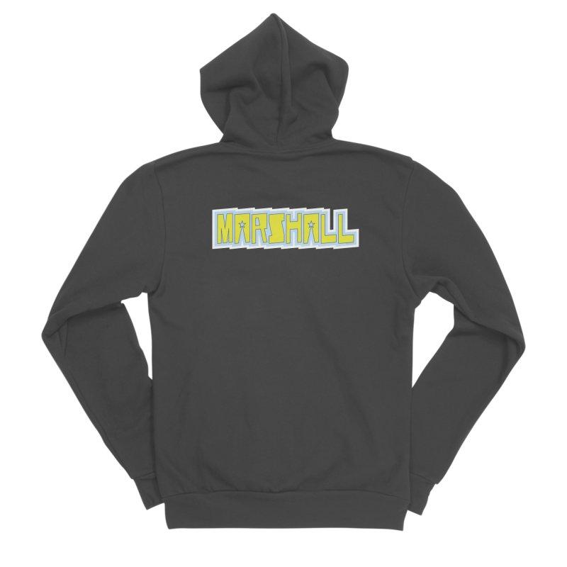 Marshall Logo Men's Sponge Fleece Zip-Up Hoody by daybreakdivision's Artist Shop