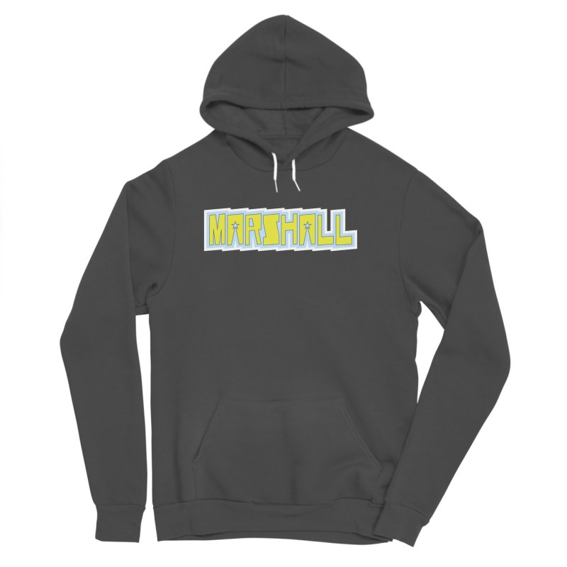 Marshall Logo Men's Sponge Fleece Pullover Hoody by daybreakdivision's Artist Shop