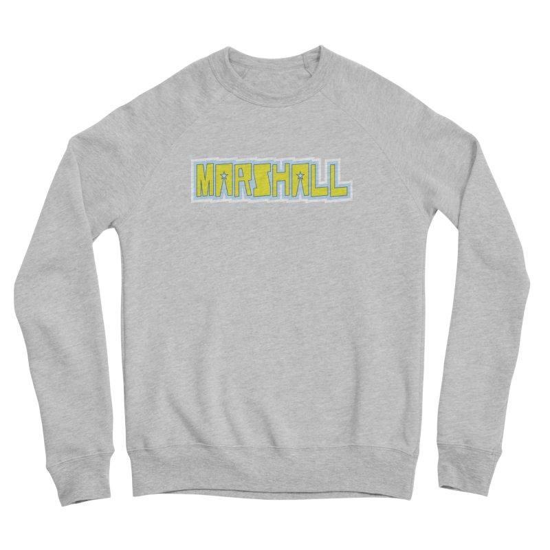 Marshall Logo Women's Sponge Fleece Sweatshirt by daybreakdivision's Artist Shop