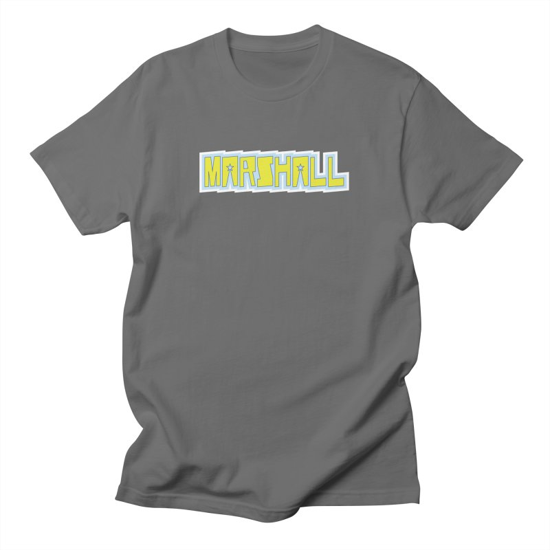 Marshall Logo Men's T-Shirt by daybreakdivision's Artist Shop