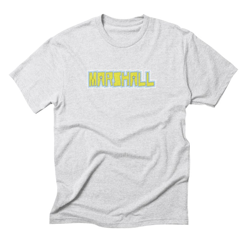Marshall Logo Men's Triblend T-Shirt by daybreakdivision's Artist Shop