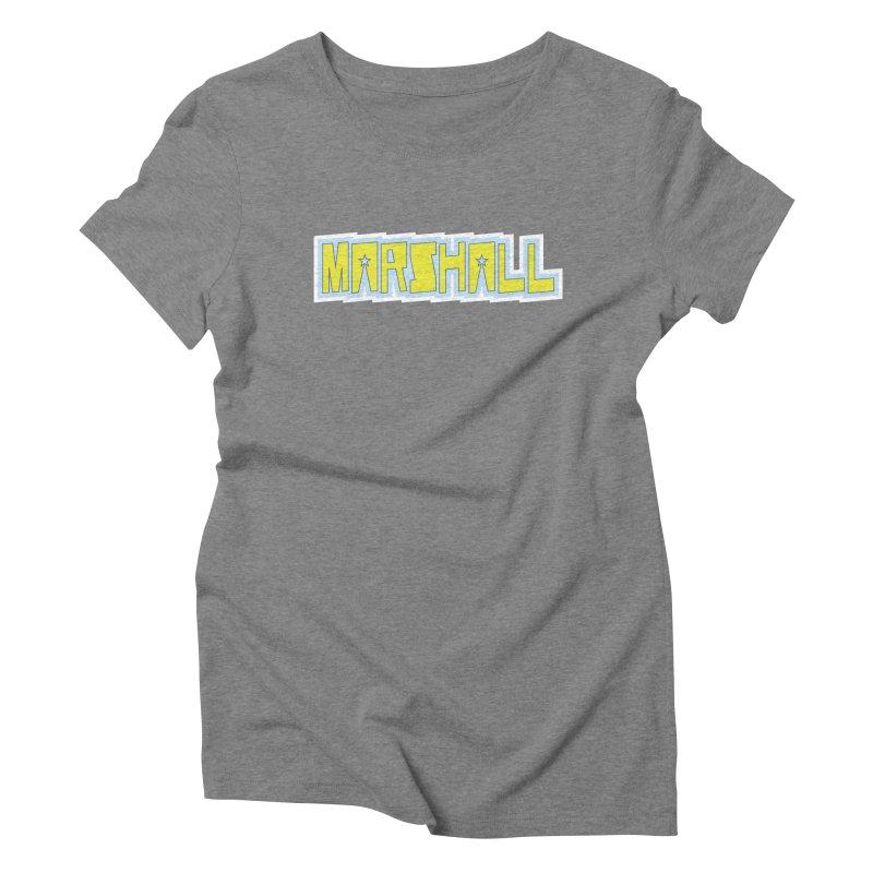 Marshall Logo Women's T-Shirt by daybreakdivision's Artist Shop