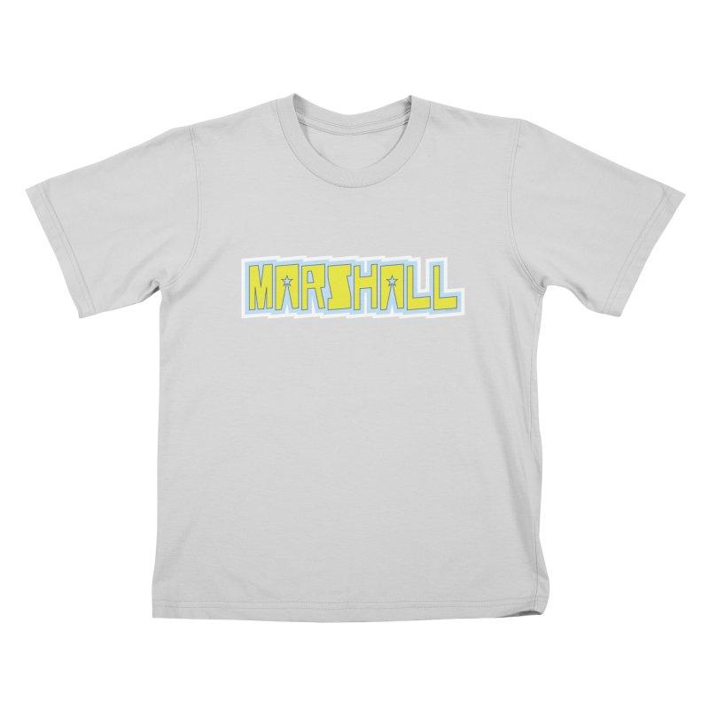 Marshall Logo Kids T-Shirt by daybreakdivision's Artist Shop