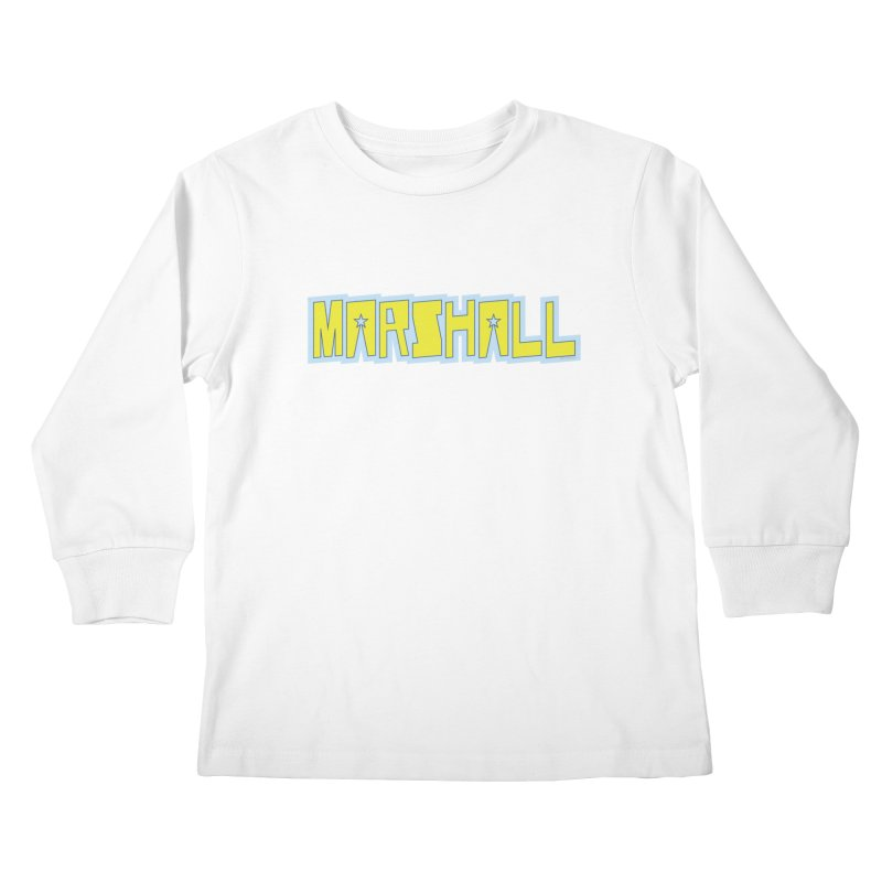 Marshall Logo Kids Longsleeve T-Shirt by daybreakdivision's Artist Shop