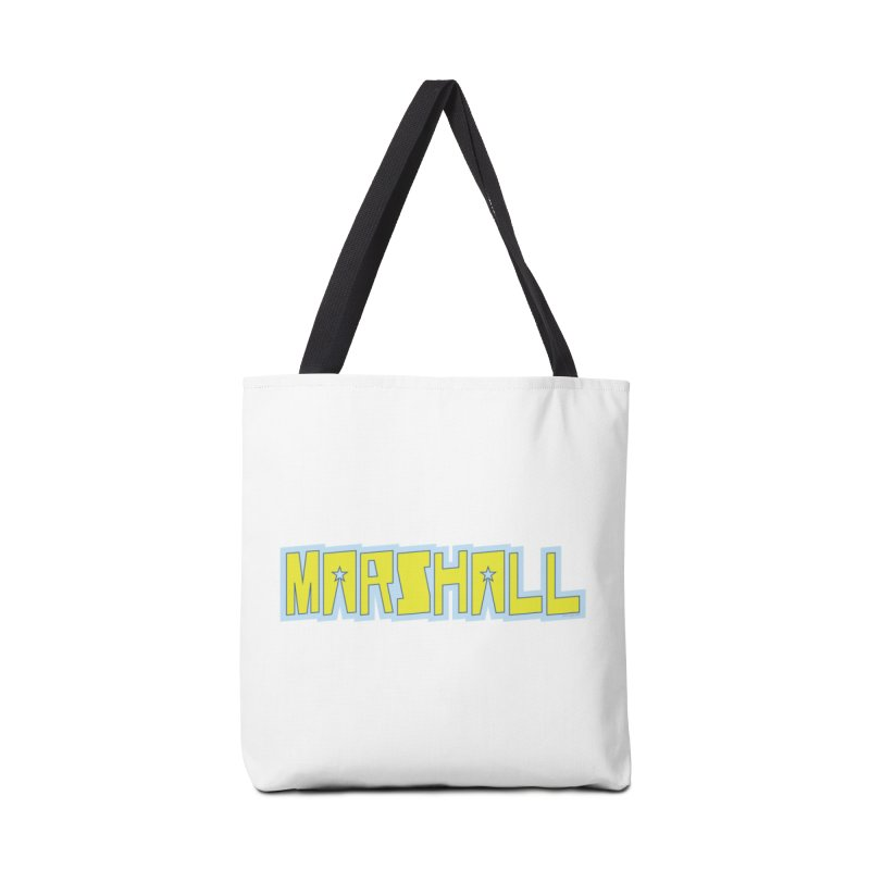 Marshall Logo Accessories Tote Bag Bag by daybreakdivision's Artist Shop