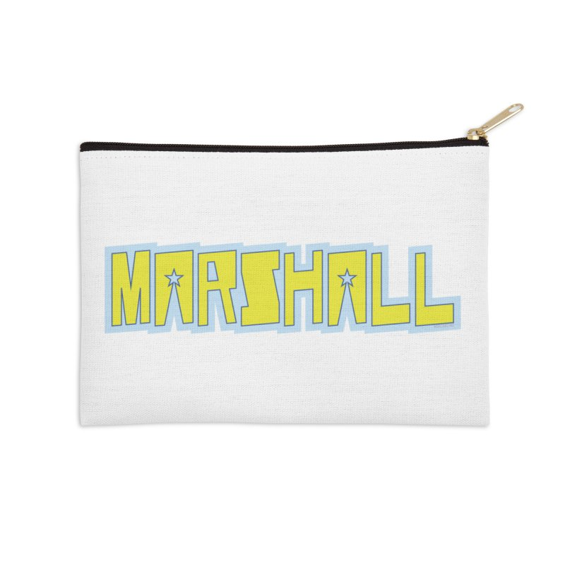 Marshall Logo Accessories Zip Pouch by daybreakdivision's Artist Shop