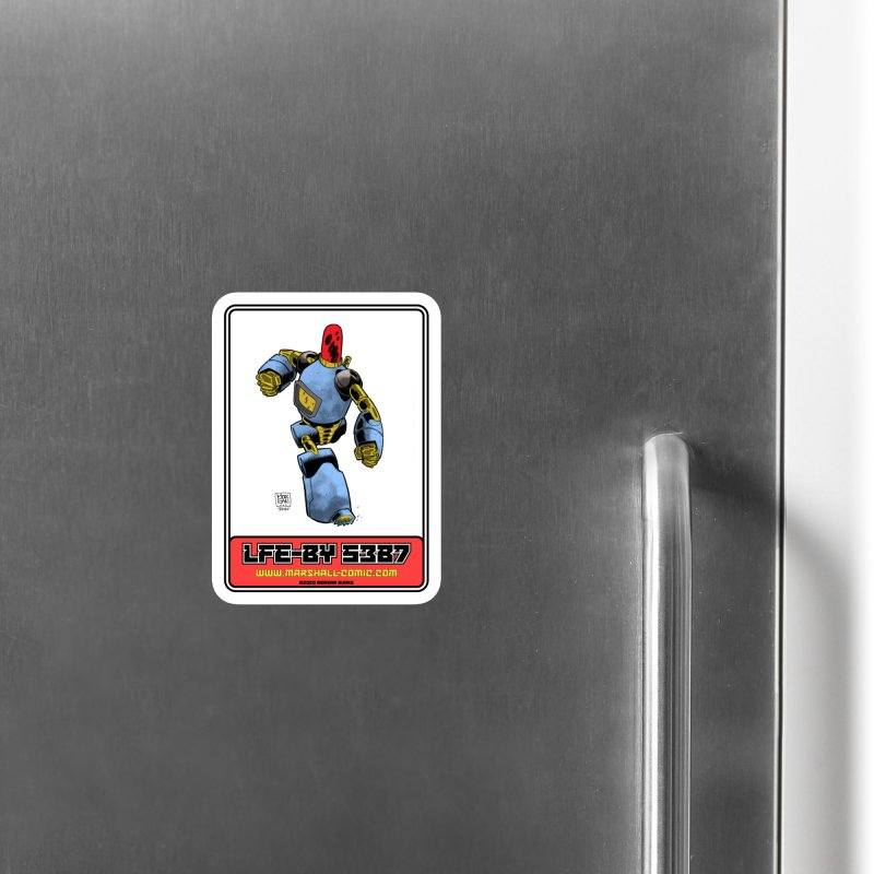 LFE-BY 5387 Accessories Magnet by daybreakdivision's Artist Shop