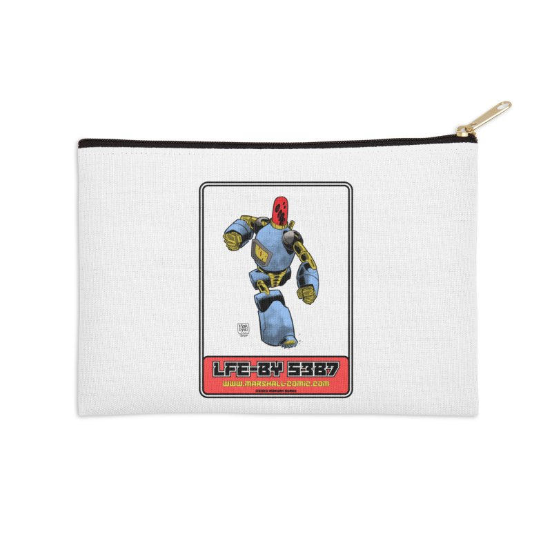 LFE-BY 5387 Accessories Zip Pouch by daybreakdivision's Artist Shop