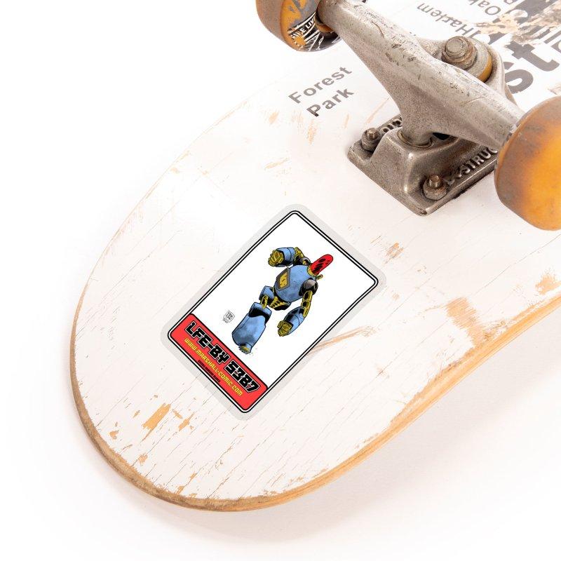 LFE-BY 5387 Accessories Sticker by daybreakdivision's Artist Shop