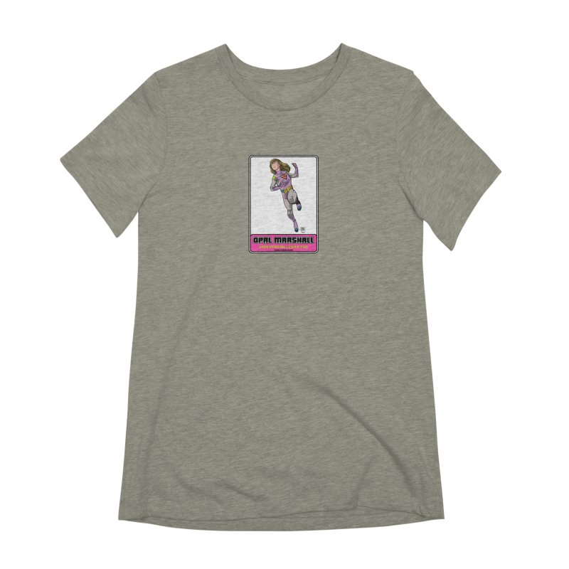 Opal Marshall Women's Extra Soft T-Shirt by daybreakdivision's Artist Shop