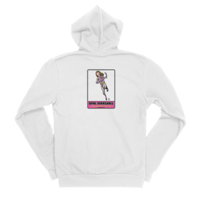 Opal Marshall Women's Sponge Fleece Zip-Up Hoody by daybreakdivision's Artist Shop