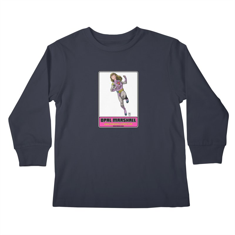 Opal Marshall Kids Longsleeve T-Shirt by daybreakdivision's Artist Shop