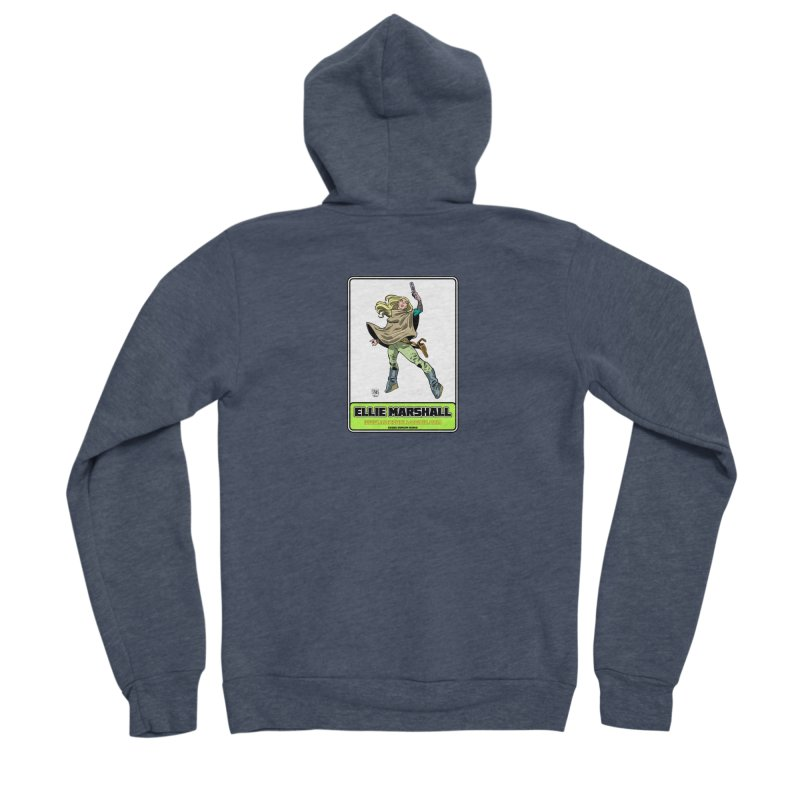 Ellie Marshall Women's Zip-Up Hoody by daybreakdivision's Artist Shop