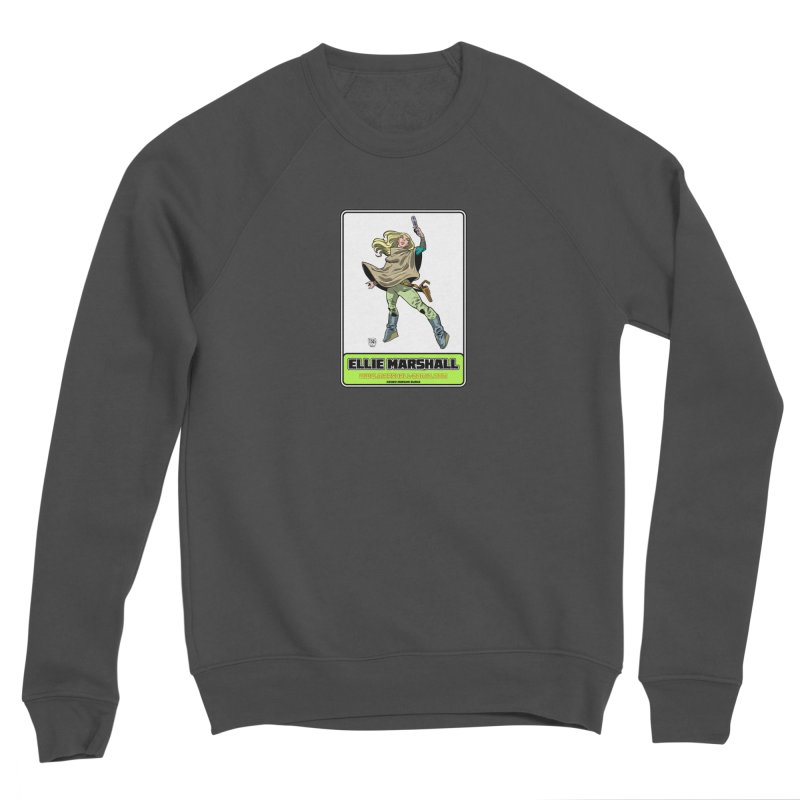 Ellie Marshall Men's Sponge Fleece Sweatshirt by daybreakdivision's Artist Shop