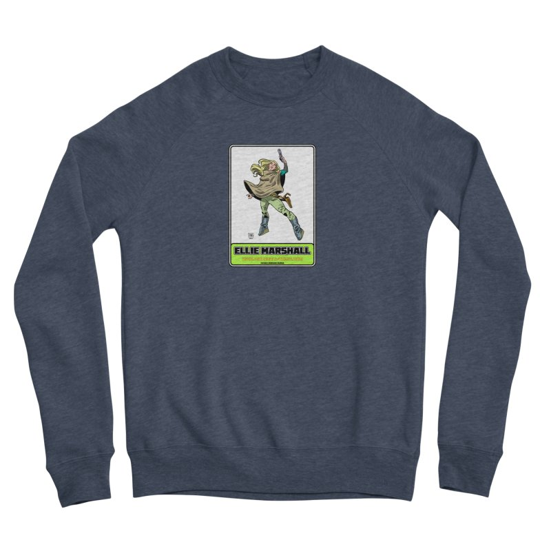 Ellie Marshall Women's Sponge Fleece Sweatshirt by daybreakdivision's Artist Shop