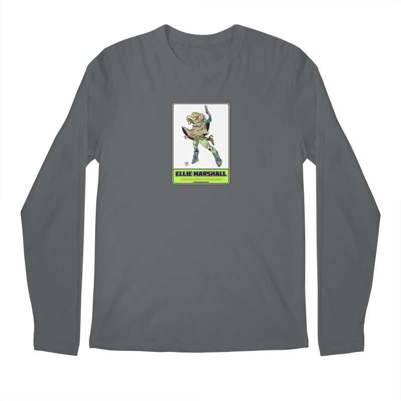 Ellie Marshall Men's Longsleeve T-Shirt by daybreakdivision's Artist Shop