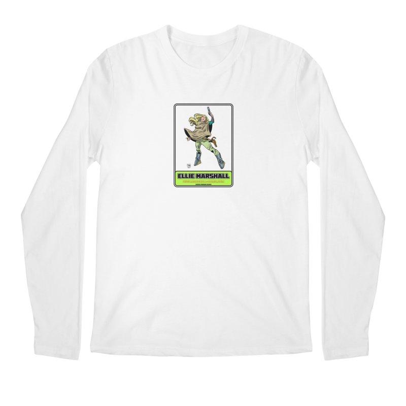 Ellie Marshall Men's Regular Longsleeve T-Shirt by daybreakdivision's Artist Shop