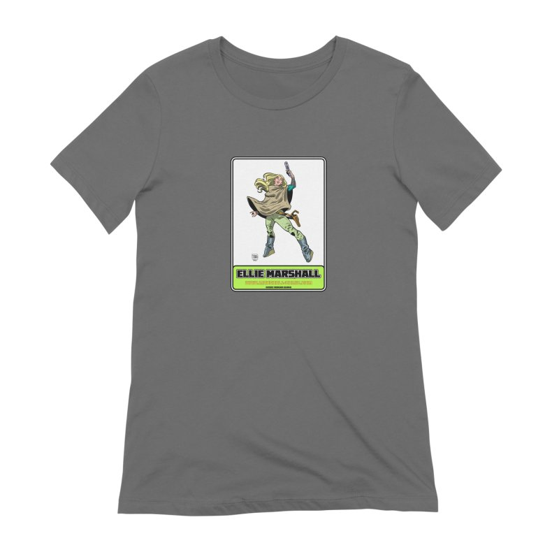 Ellie Marshall Women's T-Shirt by daybreakdivision's Artist Shop