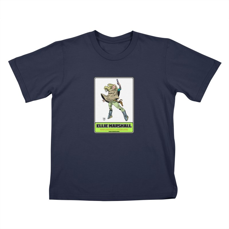 Ellie Marshall Kids T-Shirt by daybreakdivision's Artist Shop