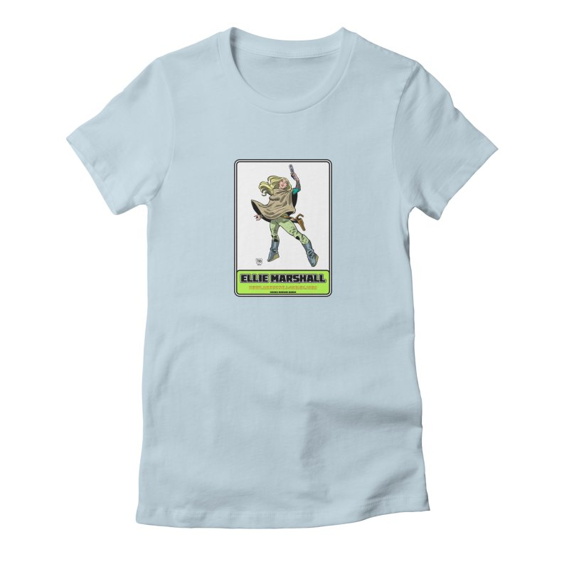 Ellie Marshall Women's Fitted T-Shirt by daybreakdivision's Artist Shop