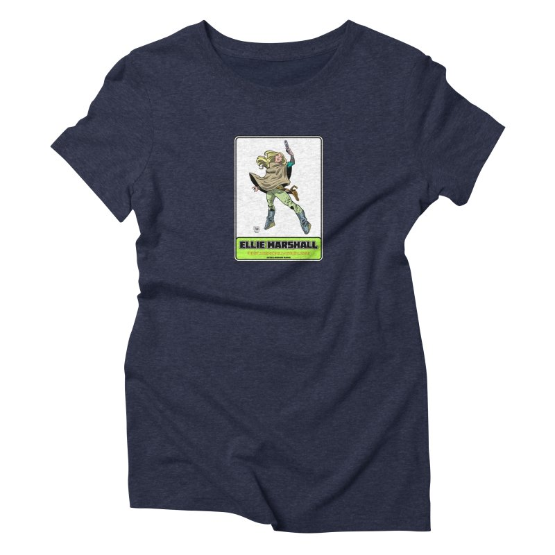 Ellie Marshall Women's Triblend T-Shirt by daybreakdivision's Artist Shop