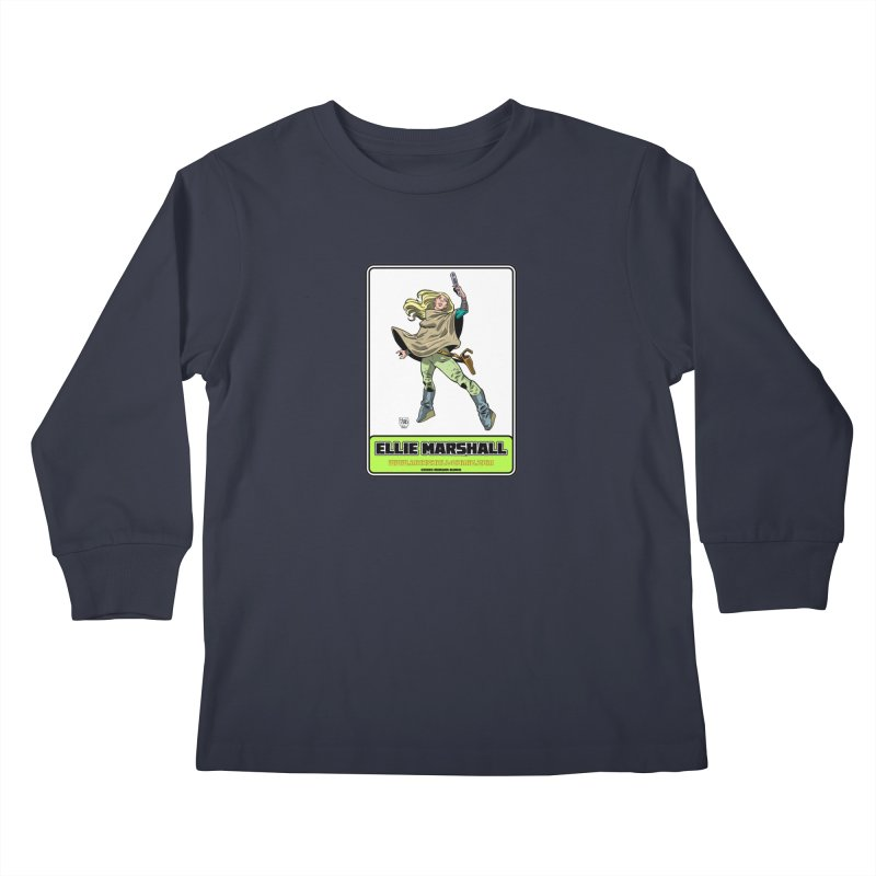 Ellie Marshall Kids Longsleeve T-Shirt by daybreakdivision's Artist Shop