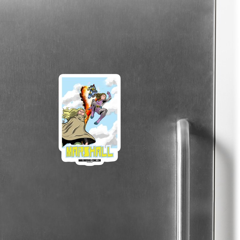 Marshall Family Accessories Magnet by daybreakdivision's Artist Shop