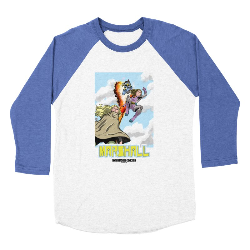 Marshall Family Women's Baseball Triblend Longsleeve T-Shirt by daybreakdivision's Artist Shop