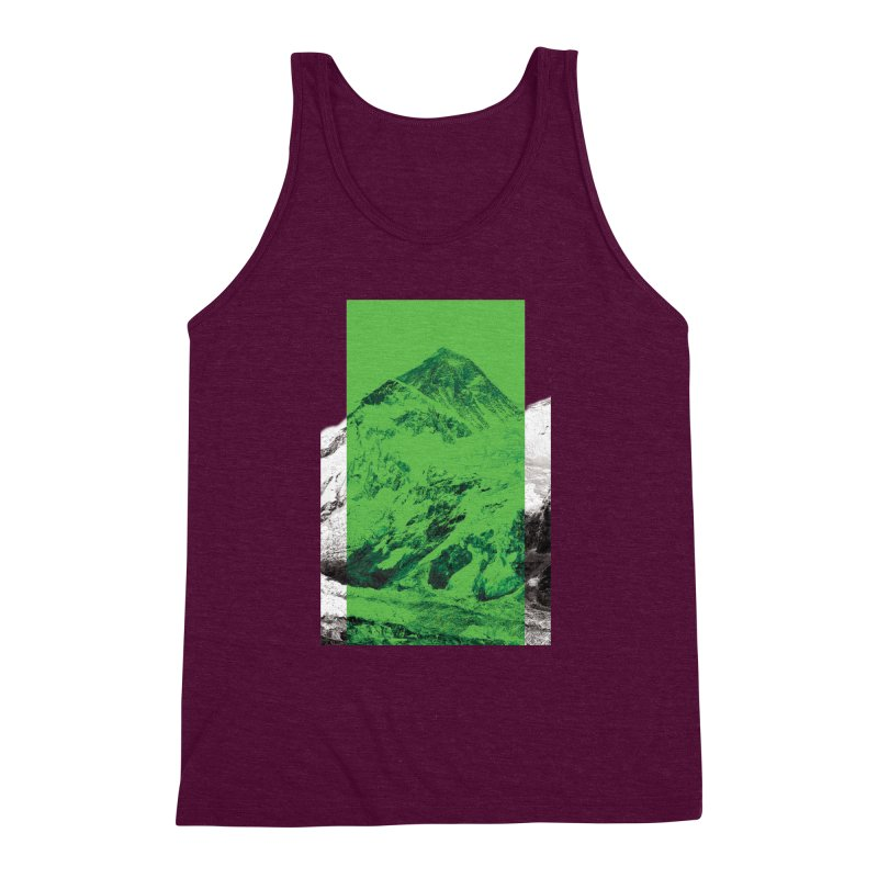 Ever green Men's Triblend Tank by Daydalaus designs